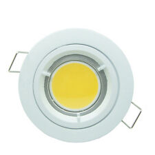 10X COB 3W GU10 LED Recessed Round white ceiling down light lamp dimmable cool