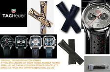 NEW TAG HEUER LEATHER PYTHON SNAKE F1 AQUARACER MONACO LINK CARRERA WATCH STRAP