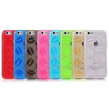 Ultra Thin Lips Clear Soft TPU Case Cover for iPhone 5s 6s Plus Samsung S6 edge