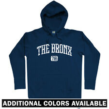 The Bronx 718 Hoodie - NYC NY New York Yankees Bombers BX Hip-Hop - Men S-3XL