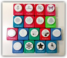Carla Craft Large Paper Craft Punches / Snowflake, Butterfly, Daisy, Lily, Star+