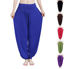 Women Yoga Baggy Casual Loose Hip Hop Harem Pants Trousers Bloomers