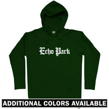 Echo Park Gothic Los Angeles Hoodie - CA California Lakers Dodgers - Men S-3XL