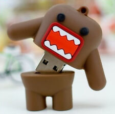 Cute domo warrior USB 2.0 Memory Stick Flash pen Drive 8GB 16GB 32GB 64GB DP162