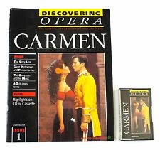 DISCOVERING OPERA - PAPERBACK MAGAZINE AND CASSETTE TAPE