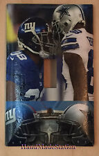 NY Giants VS Dallas Cowboys Light Switch Power Duplex Outlet Cover Plate decor