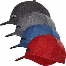 *NEW* 2016 Adidas Golf Mens ClimaCool Flex-Fit Hat Chino Print Structured Cap