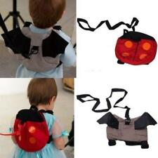 Baby Kids Anti lost Walking Wings Safety Harness Bat Bag Backpack Strap Rein L