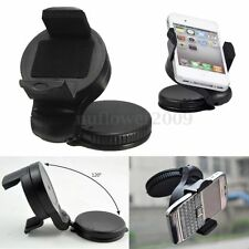 Car Windscreen Dash Suction Cup Mount Cradle Holder CellPhone 360° Rotating