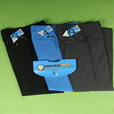 Stromberg Mens Wintra Winter Themal Golf Trousers Water Resistant All Sizes New