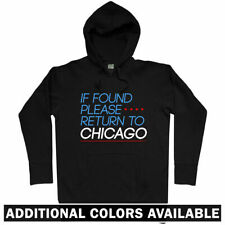 Return to Chicago Hoodie - Chi-Town Windy City Illinois IL Bulls Bears Men S-3XL
