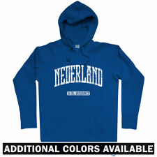 Netherlands Hoodie - Amsterdam Rotterdam Hague Nederland Holland Dutch Men S-3XL