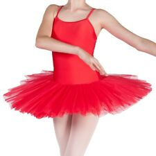 Lucy BALLET TUTU 4 Layer Full Tutu Dress Red Dance Costume By Dancing Daisy