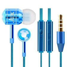 3.5mm In-Ear Earphones Mp3 Cellphone Headphones Stereo Headset Earbuds With Mic