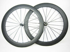 60mm clincher carbon bike cycle wheels road 700C bicycle ceramic bearing hub R13