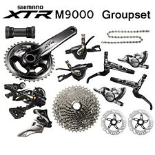 New 2016 Shimano XTR M9000 M9020 Race Trail Full Groupset Group set 11-speed