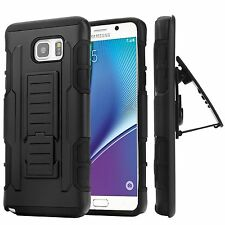 Hybrid Dual Layer Combo Armor Defender Protective Case for Samsung Galaxy Note5