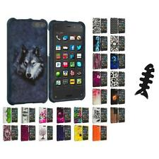 For Amazon Fire Phone Hard Design Skin Case Cover Accessories Cable Wrap