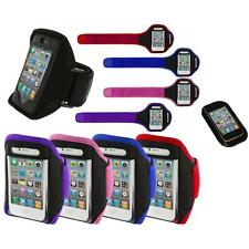 Color Running Sports Gym ArmBand+Sticky Pad for iPhone 4 4G 4S 3GS S 3G 2G