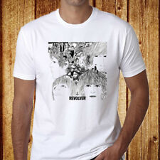 The Beatles Revolver *John Lennon Rock Legend Men's White T-Shirt Size S-3XL