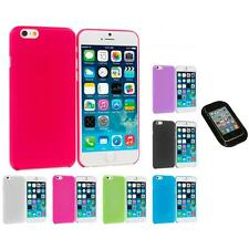 For Apple iPhone 6 (4.7) Flexible Hard Ultra Thin Back Cover Case Sticky Pad