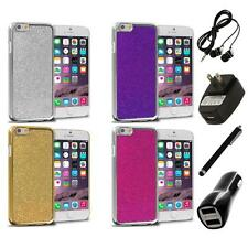 For Apple iPhone 6 (4.7) Metal Bling Glitter Shiny Case Cover 4X Accessories
