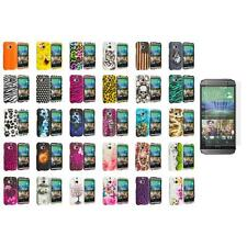 For HTC One 2 M8 Hard Design Case Cover Screen Protector