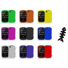 For Sprint Kyocera Milano C5120 Color Hard Snap-On Skin Case Cover+Cable Wrap