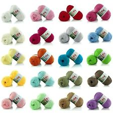 50g Baby Kids Skein Soft 100% Bamboo Cotton Knitting Woolen Yarn NEW