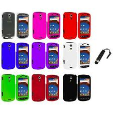 Color Hard Snap-On Case Cover+Stylus Plug for Samsung Epic 4G Phone Accessory