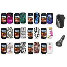 For Samsung Proclaim S720C Illusion Color Hard Design Case Cover+2X Chargers