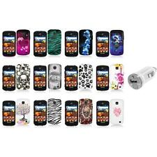 For Samsung Proclaim S720C Illusion Color Hard Design Case Cover+USB Charger