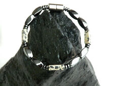 Mens Womens Magnetic Hematite Dalmation Jasper Gemstone Bracelet Anklet Necklace