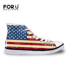Fruit Fashion Womens Girls Lace-up High Top Shoes Sneakers Casual Canvas Shoes