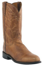 Lucchese M1017 C2 Mens Tan Mad Dog Goat Leather Western Roper Boots