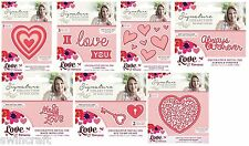 Crafters Companion LOVE & ROMANCE COLLECTION Cutting & Embossing Dies