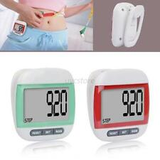 Pocket Clip LCD Digital Step Pedometer Run Distance Calorie Walking Counter U85