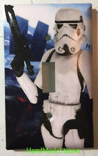 Star Wars White Soldier Light Switch Power Outlet Duplex Cover Plate Home decor