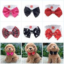 Cute Dog Puppy Cat Kitten Pet Toy Bow Tie Necktie Collar Clothes S M L Hot