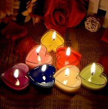 9pcs Decor Scented Heart Candle Wedding Party Valentine's day Romantic Gift