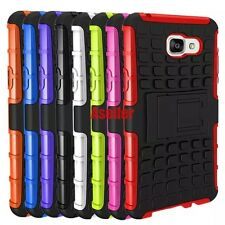 For Samsung Galaxy A510 3D 2-Layer Shock Skip Proof Rugged Impact Tough TPU Case