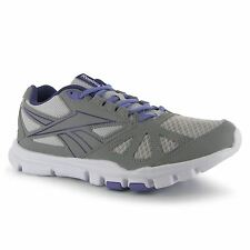 Reebok YourFlex Shoes Trainers Womens Stell/Grey/Wht Sneakers