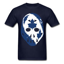 The Mike Palmateer Mask Shirt - Blue UNISEX Toronto Maple Leafs FREE SHIPPING!