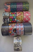 Duck Brand Duct Tape Rolls PICK YOUR PATTERN