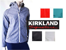 New Women Kirkland Signature 4 Way Stretch Weatherproof SoftShell Jacket Variety