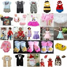 [CLEARANCE SALE] Baby Boy Girl Formal Casual Clothes Suit Romper Tee/Tutu Dress