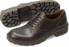 Men's Born Lace Up Casual Walking Shoe Marlon Barrel Brown H22923