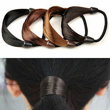 FAD Womens Braid / Straight Wig Elastic Hair Band Rope Scrunchie Ponytail Holder