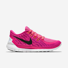 Nike Free 5.0 Ladies Trainers Casual Shoes Size 4 US 6.5 EU 37.5