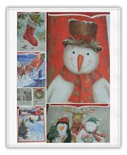 LOT OF 3 or 4 Boxes 40 Ct Deluxe Holiday/Christmas Carlton Cards~120 & 160 Total